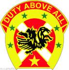 STICKER US ARMY UNIT 151st Field Artillery Brigade