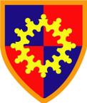 STICKER US ARMY UNIT 149th Armor Brigade SHIELD