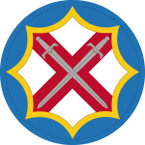 STICKER US ARMY UNIT 142nd Battlefield Surveillance Brigade SHIELD