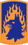 STICKER US ARMY UNIT 12th Aviation Brigade SHIELD