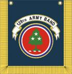 STICKER US ARMY UNIT 129th Army Band