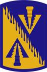 STICKER US ARMY UNIT 128th Aviation Brigade SHIELD