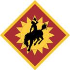 STICKER US ARMY UNIT 115th Field Artillery Brigade SHIELD