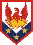 STICKER US ARMY UNIT 110th Manuever Enhancement Brigade SHIELD