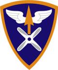STICKER US ARMY UNIT 110th Aviation Brigade SHIELD
