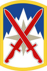 STICKER US ARMY UNIT 10th Sustainment Brigade SHIELD