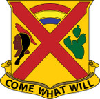 STICKER US ARMY UNIT 108TH CAVALRY REGIMENT