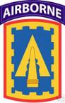 STICKER US ARMY UNIT 108th Air Defernse Artillery TAB