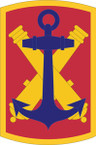 STICKER US ARMY UNIT 103rd Field Artillery Brigade SHIELD