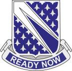 STICKER US ARMY UNIT  89th Cavalry Regiment