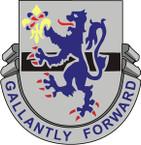 STICKER US ARMY UNIT  71st Cavalry Regiment
