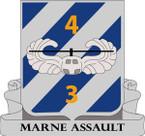 STICKER US ARMY UNIT  4rd Battalion (Assault), 3rd Aviation Regiment