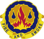 STICKER US ARMY UNIT  487TH Chemical Battalion