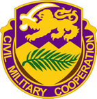 STICKER US ARMY UNIT  401st Civil Affairs Battalion