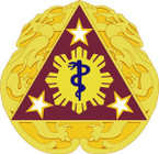 STICKER US ARMY UNIT  3rd Combat Support Hospital