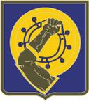 STICKER US ARMY UNIT  34th Armor Regiment - 1