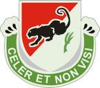 STICKER US ARMY UNIT  31st Cavalry Regiment