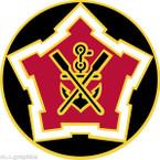 STICKER US ARMY UNIT  2nd Engineer Battalion