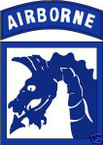 STICKER US ARMY UNIT  18th Airborne Corps COL