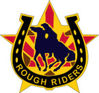 STICKER US ARMY UNIT  118th Cavalry Regiment