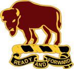 STICKER US ARMY UNIT  10th Cavalry Regiment