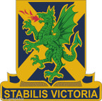 STICKER US ARMY UNIT  103D CHEMICAL BATTALION