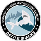 STICKER US ARMY Southern California Recruiting Battalion