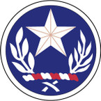 STICKER US ARMY NATIONAL GUARD Texas