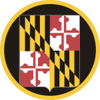 STICKER US ARMY NATIONAL GUARD Maryland II