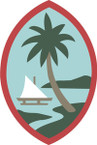 STICKER US ARMY NATIONAL GUARD Guam