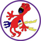 STICKER US ARMY AIR FORCE 384th Fighter Squadron