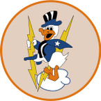 STICKER US ARMY AIR FORCE 375th Fighter Squadron