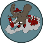 STICKER US ARMY AIR FORCE  461st Bombardment Squadron