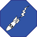 STICKER US ARMY AIR CORPS 15th Bombardment Squadron
