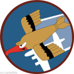 STICKER US ARMY AIR CORPS  91st Bombardment Group