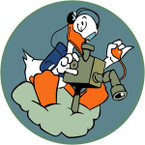 STICKER US ARMY AIR CORPS  60th Bomb Squadron - 39th Bomb Group - 314th Bomb Wing - 20th Air Force