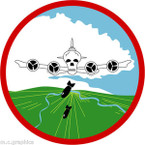 STICKER US ARMY AIR CORPS  365th Bomb Squadron