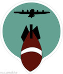 STICKER US ARMY AIR CORPS  316th Bomb Squadron - 88th Bomb Group