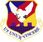 STICKER USAF 87th Air Base Wing