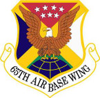 STICKER USAF 65th Air Base Wing