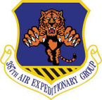 STICKER USAF 387th Air Expeditionary Group