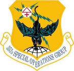 STICKER USAF 353rd Special Operations Group