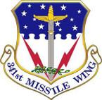 STICKER USAF 341st Missile Wing