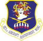 STICKER USAF 327th Aircraft Sustainment Wing