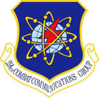 STICKER USAF 254th Combat Communications Group