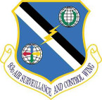 STICKER USAF 93d Air Ground Operations Wing