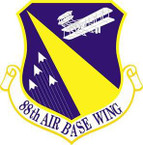 STICKER USAF 88th Air Base Wing