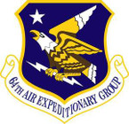 STICKER USAF 64th Air Expeditionary Group