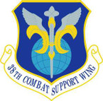 STICKER USAF 38th Combat Support Wing