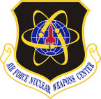 STICKER USAF Nuclear Weapons Center Emblem